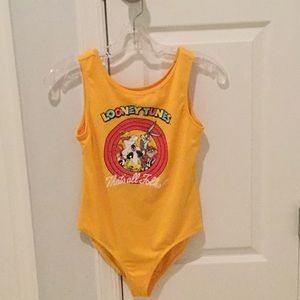 Girls looney tunes body suit from fo er 21